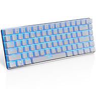 Игровая клавиатура ajazz ak33, 82 классических клавиш компоновки, переключатель прозрачной оси