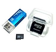 32-гигабайтная карта microfdhc tf со всеми в одном устройстве для чтения карт памяти и sdhc sd-адаптером