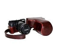 dengpin искусственная кожа съемный чехол для фотокамеры сумка чехол с плечевым ремнем для Canon EOS м3 EOS-м3 (разные цвета)