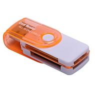 SD/SDHC/SDXC MicroSD/MicroSDHC/MicroSDXC/TF Memory Stick Micro (M2) Memory Stick PRO Duo Устройство чтения карт памяти