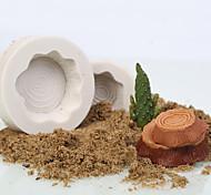2 предмета Формы для пирожных Круглый конфеты Силиконовые Для детской Праздник Инструмент выпечки Творческая кухня Гаджет Оригинальные
