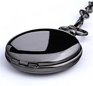 Муж. Карманные часы Кварцевый сплав Группа Черный Серебристый металл Золотистый
