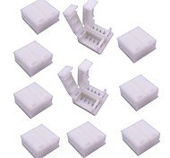 4-контактный разъем для проводов на 5050 rgb светодиодные полосы 10шт.
