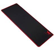 Комбинированная удлиненная игровая коврик для мыши противоскользящая резиновая основа толщиной 2 мм 27,6 x 11,8 x 0,08 дюйма