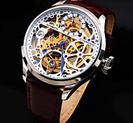 Механические часы С автоподзаводом Натуральная кожа Группа Люкс