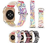 для яблока смотреть iwatch ручной работы замена полосы ремень дизайн шаблона 38 мм 42 мм