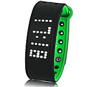 умный браслет водостойкий / водонепроницаемый длительный резерв калорий сожженный шагомер упражнение запись спортивный сенсорный экран