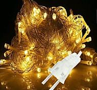Рождественские огни 10M / 100leds шнура СИД 110v для праздника / партии / свадьба / новый год украшения дома нас освобождает перевозку