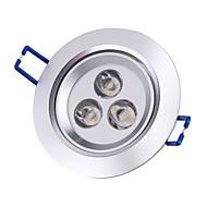 3W Einbauleuchten / Deckenleuchten Eingebauter Retrofit 3 High Power LED 250 lm Warmes Weiß AC 85-265 V