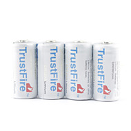 trustfire CR123A li-ion akkumulátor szürke (4-Pack)