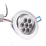 7W Einbauleuchten / Deckenleuchten Eingebauter Retrofit 7 High Power LED 630 lm Warmes Weiß AC 85-265 V