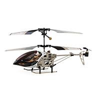 USB rechargeable 3-CH Palm-size mini R / C hélicoptère de jeu (télécommande IR)
