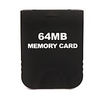 64 MB de tarjeta de memoria para wii gc