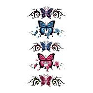 Tetkó matricák Állatos sorozatok Mintás Waterproof Női Girl Tini flash-Tattoo ideiglenes tetoválás