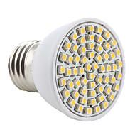 Lâmpada de Foco E26/E27 3 W 200 LM 2800K K Branco Quente 60 SMD 3528 AC 220-240 V PAR