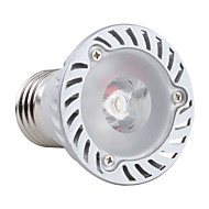 E26/E27 1 W 1 High Power LED 180 LM Warm White PAR Spot Lights AC 85-265 V