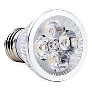 4W E26/E27 LED Spotlight MR16 4 High Power LED 360 lm Natural White AC 85-265 V