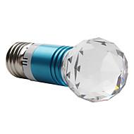 Niebieska Kryształowa Żarówka LED E27 3W (85-265V)