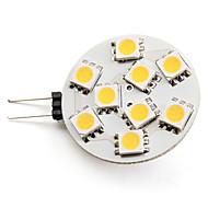 LED Spot Lampen G4 3W 100 LM 2800K K 9 SMD 5050 Warmes Weiß DC 12 V