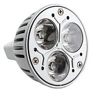 GU5.3 W 3 High Power LED 270 LM Natural White MR16 Spot Lights DC 12 V