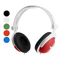 Kopfhörer 3.5mm über Ear-Stereo Lautstärkeregler für Media-Player / Tablette (farblich sortiert)