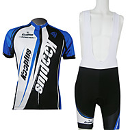 KOOPLUS Cycling Clothing Sets/Suits / Jerseys Men's / Unisex Breathable / Quick Dry / Front Zipper Short Sleeve Bike PolyesterClassic /