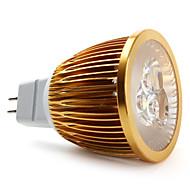 5W GU5.3(MR16) LED Spotlight MR16 3 High Power LED 450 lm Natural White DC 12 V