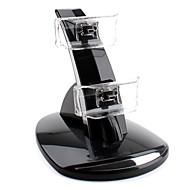 Base Dual de Carga USB para Mando PS3 (Negro)