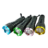 mini-1-Mode LED Flashlight (1xAA, couleur aléatoire)