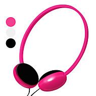 kanen voimakas basso ergonomiset kuulokkeet ja mikrofoni ja äänenvoimakkuuden säätö (valikoituja värejä)