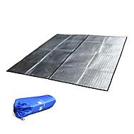 viaggiare tappeto impermeabile in alluminio per la spiaggia, prato, dormire e pic-nic (grande)