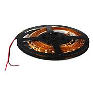 Faixa de Lâmpadas LED Flexível Branco Quente 5M 5W 300x3528 SMD (DC 12V)