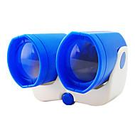 blu di plastica normale binocolo telescopio