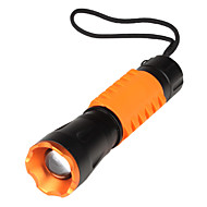 Others LED Flashlights / Handheld Flashlights 3 Mode 190 Lumens AAA Adjustable Focus / Rechargeable / Tactical / Self-Defense LEDCree