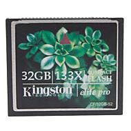 32gb kingston elite pro tarjeta de memoria CF Compact Flash 133x