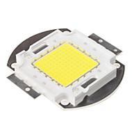 diy 100w 8000-9000lm 6000-6500k doğal beyaz ışık entegre led modülü (33-35V)