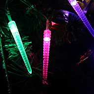 1.2M 10-LED Ice Piton Shaped Colorful Light String Fairy Lamp for Christmas (3xAA)