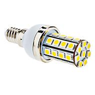 E14 - 7 Majs Glöslampor (Varmt vit 590 lm AC 85-265