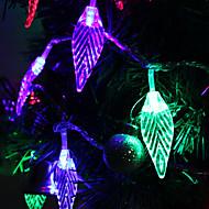 7M 30-LED Leaf-Shaped bunte Licht LED-Streifen Fairy Lampe für Festival Dekoration (220V)