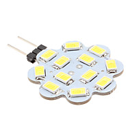 G4 6 W 12 SMD 5630 560 LM Natural White Bi-pin Lights DC 12 V