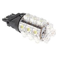 3157 2.5W 18-LED 90LM Natural White Light Bulb for Car Brake Lamp (12V)
