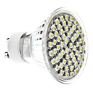 GU10 4 W 60 SMD 3528 350 LM Natural White MR16 Spot Lights AC 220-240 V