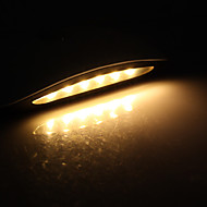 Infrared Sensor Broad Bean Shaped 0.5W Warm White Light LED Night Lamp (2 Colors Selectable)