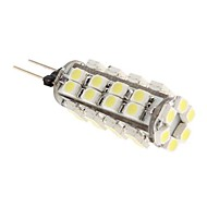 G4 2.5 W 38 SMD 3528 100 LM Natural White T Corn Bulbs DC 12 V