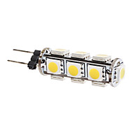 G4 2 W 13 SMD 5050 180 LM Warm White Corn Bulbs DC 12 V