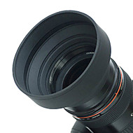 Objectif 62 mm Parasoleil caoutchouc pour Grand angle, standard, téléobjectif