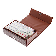 2x1.5cm Portable Mahjong for Travel Entertainment