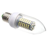 8W E26/E27 Ampoules Bougies LED C35 138 SMD 3528 620 lm Blanc Chaud / Blanc Froid AC 100-240 V