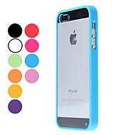Voor iPhone 5 hoesje Transparant hoesje Achterkantje hoesje Effen kleur Hard PC iPhone SE/5s/5
