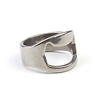 2.2cm Finger Ring Style Mini Alloy Bottle Opener